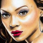 Beyonce-portrait